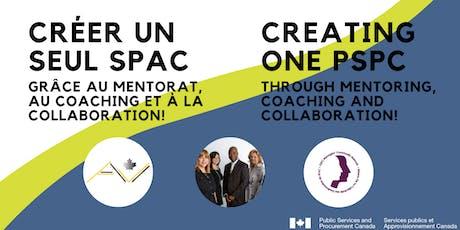 Creating One PSPC / Créer UN seul SPAC tickets