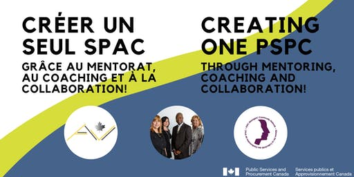 Creating One PSPC / Créer UN seul SPAC