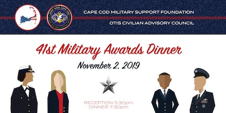 41st Annual JBCC Military Awards Dinner tickets