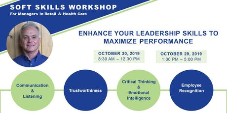 Soft Skills Workshop for Managers in Retail & Health Care tickets