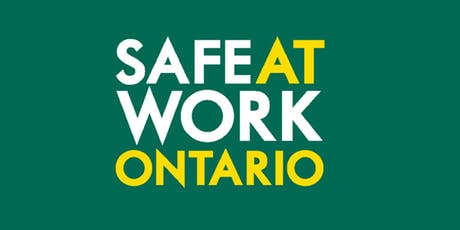 2019 Health and Safety Consultation: Construction - Afternoon Session (GTA) tickets