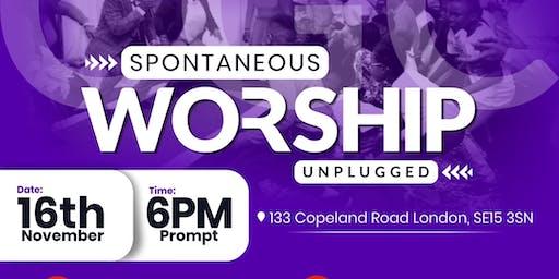 Spontaneous Worship *Unplugged*