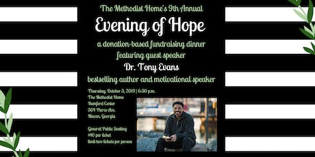Evening of Hope featuring Dr. Tony Evans tickets