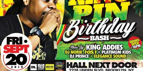 Kingpins Birthday Bash tickets