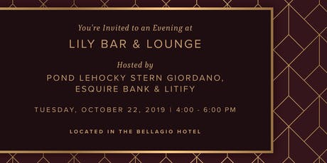 An Evening at Lily Bar & Lounge tickets