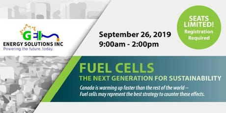 Fuel Cells: The Next Generation For Sustainability tickets