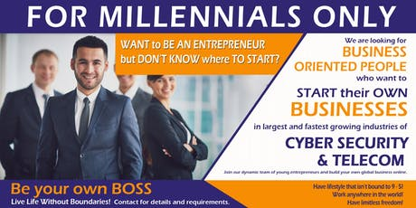 How to Start a Business Online for Millennials tickets