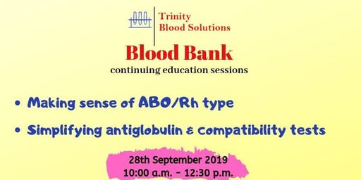 Blood bank continuing education #6