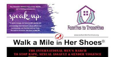 Walk a Mile in Her Shoes benefiting Families in Transition