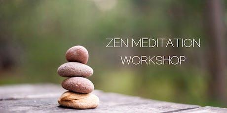 September Zen Meditation Workshop  tickets