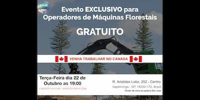 Itapetininga - Precisamos de operadores de Fowarder e Harvester com experiencia para atuar no Canada