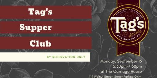 Tag's Supper Club, September 16, 2019