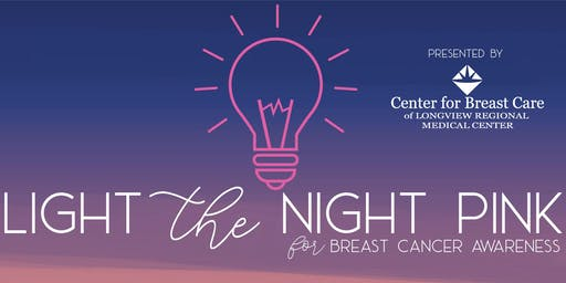 Light the Night Pink for Breast Cancer Awareness