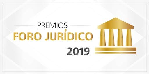 Premios Foro Jurídico 2019