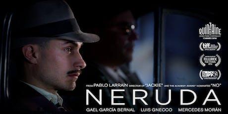 Neruda  (ARGENTINA,CHILE, FRANCIA, ESPAÑA/ 2016 / 107 MIN) tickets