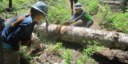 Upper Muddy Fork Brushing and Treadwork (Sept 19)