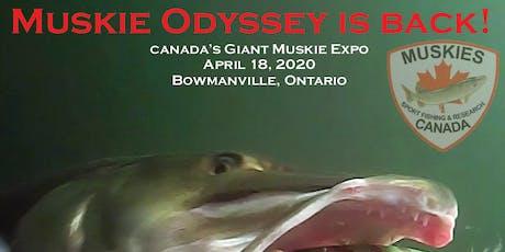 2020 Muskie Odyssey tickets