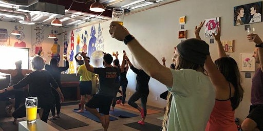 Brewery Yoga x Liberation Brewing