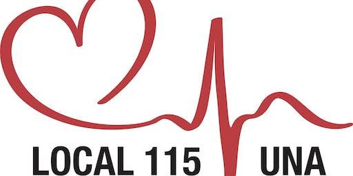 UNA Local 115 Annual General Meeting 2019