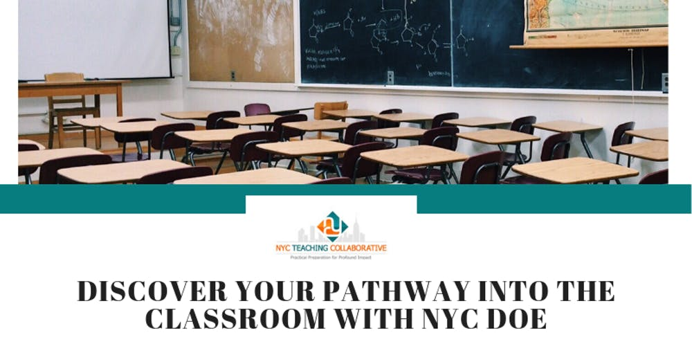 Discover your Pathway Into The Classroom with NYC DOE: NYCTC