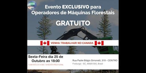 Fraiburgo - Precisamos de operadores de Fowarder e Harvester com experiencia para atuar no Canada