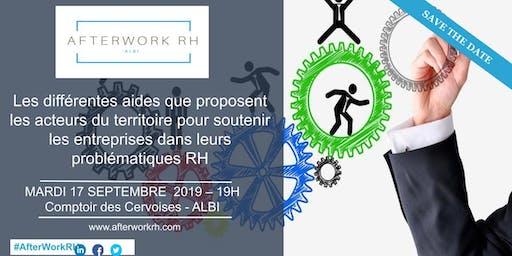 AfterWork RH Albi - Septembre 2019 - Les différentes aides du territoire pour nous soutenir dans nos problématiques RH