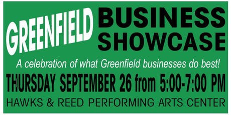 Greenfield Business Showcase tickets