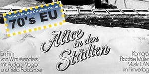 EU Films of the 70's: Alice in den Städten