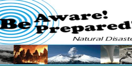 DISASTER PREPAREDNESS/ SURVIVAL SEMINAR tickets