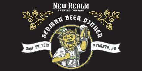 German Beer Pairing Dinner at New Realm Brewing tickets