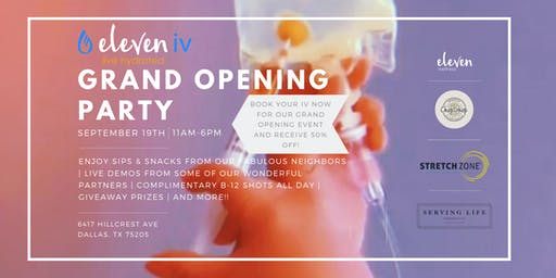 Eleven IV Grand Opening Event
