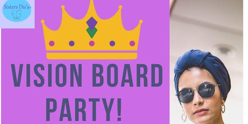 Muslim Women's Vision Board Party
