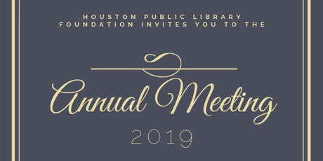 Annual Meeting & Celebration tickets