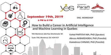 How to Build a Career in Artificial Intelligence and Machine Learning in Quebec Fall 2019 tickets