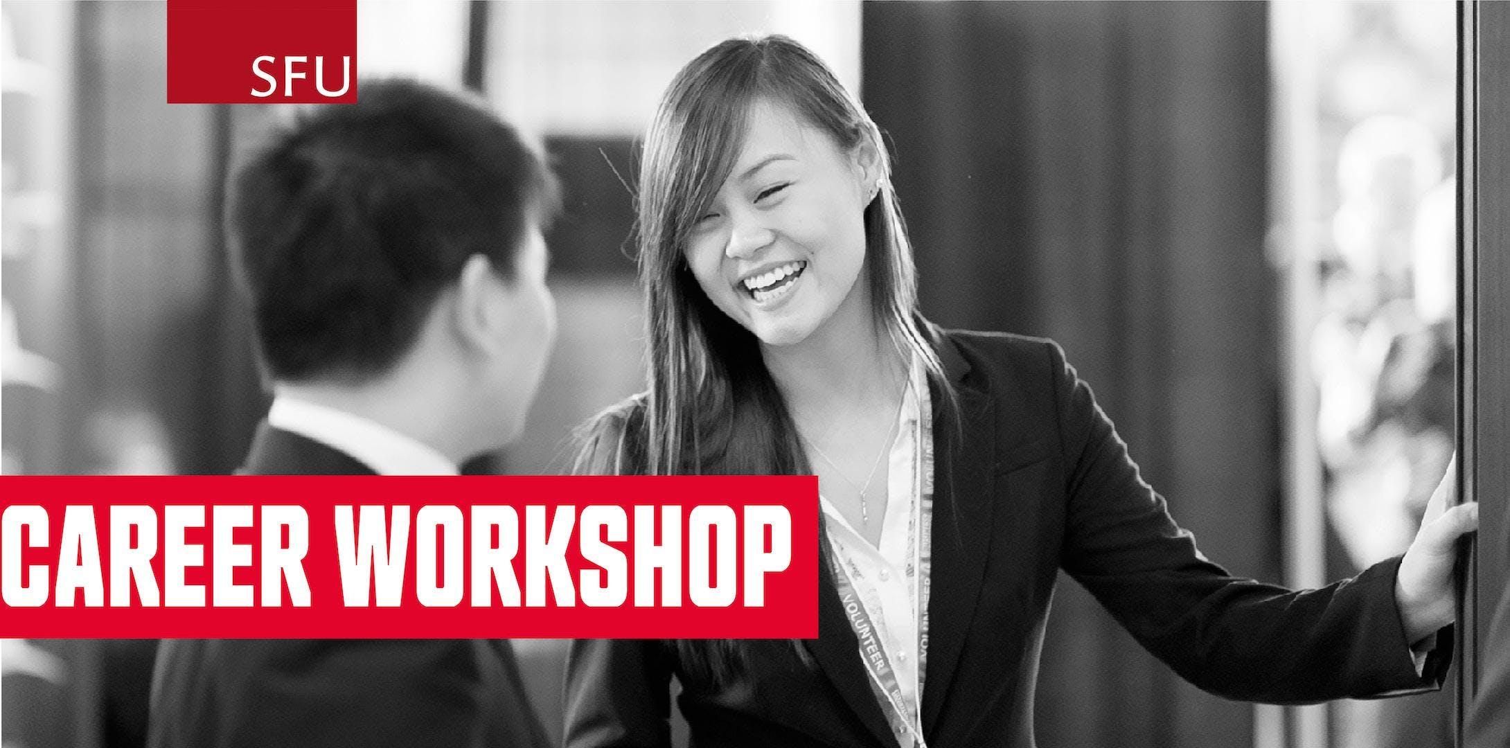 Career Workshop Networking Skills