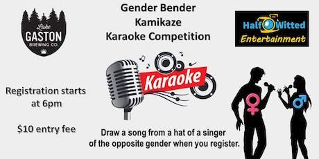 LKG Gender Bender Karaoke Competition tickets