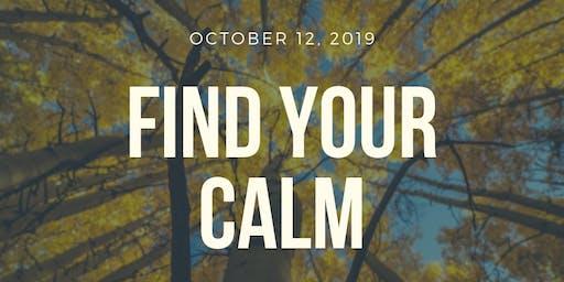Find Your Calm: A Stress Management Workshop