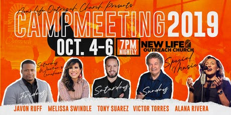 New Life Outreach Church- Campmeeting 2019 tickets