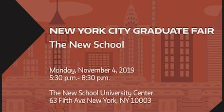 New York City Graduate Fair tickets