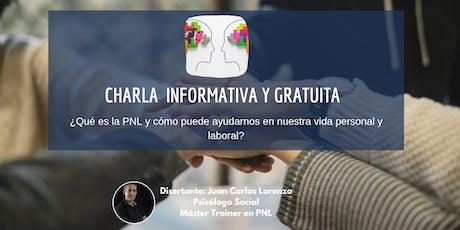 Charla informativa y gratuita-¿Qué es la PNL? entradas