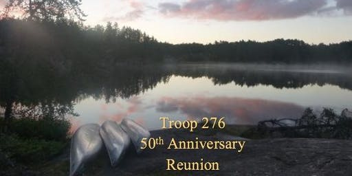 50th Anniversary Reunion for Troop 276