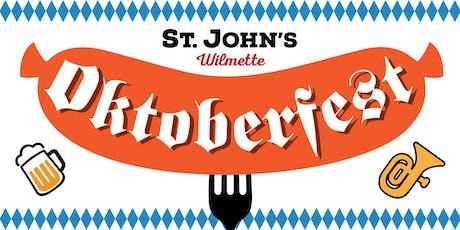 St. John's Oktoberfest Wilmette tickets