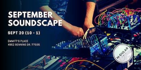 Modular Houston's September Soundscape tickets