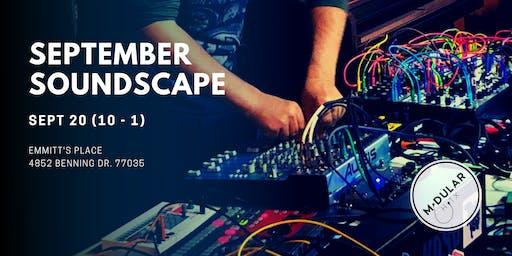 Modular Houston's September Soundscape