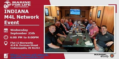 Indiana Marine For Life September Networking Event tickets