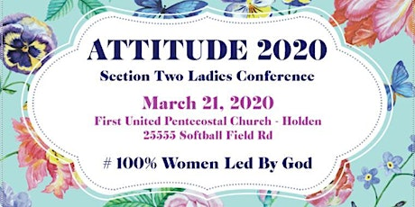 ATTITUDE 2020 #100 Women Led By God tickets