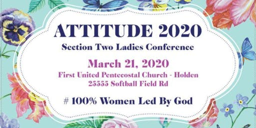 ATTITUDE 2020 #100 Women Led By God