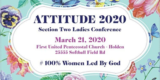 ATTITUDE 2020 #100 Women Led By God