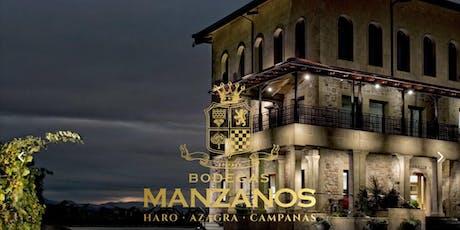 A night in Rioja - tasting & tapas with Ruben Quintana of Bodegas Manzanos tickets