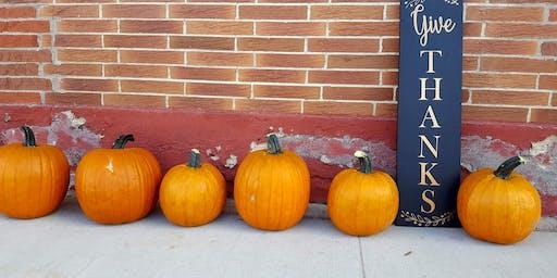 Fall Sign Make-&-Take!